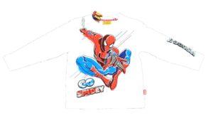 Maglia manica lunga Spiderman