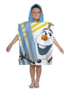 Accappatoio poncho Olaf Disney Frozen