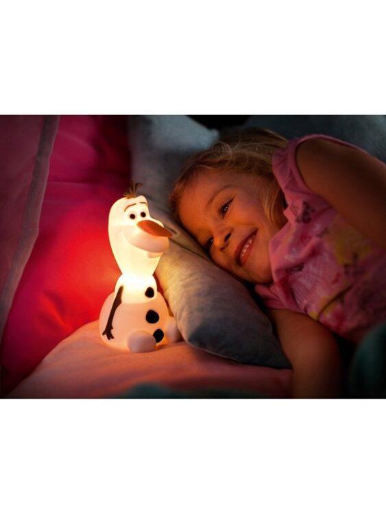 Lampada soft a LED sagomata Olaf Disney Frozen
