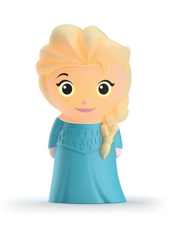 Lampada soft a LED sagomata Elsa Disney Frozen