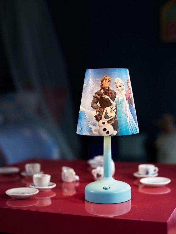 Lampada da tavolo portatile Disney Frozen