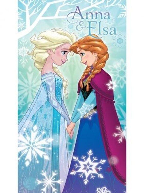 Asciugamano telo mare Disney Frozen Sisters