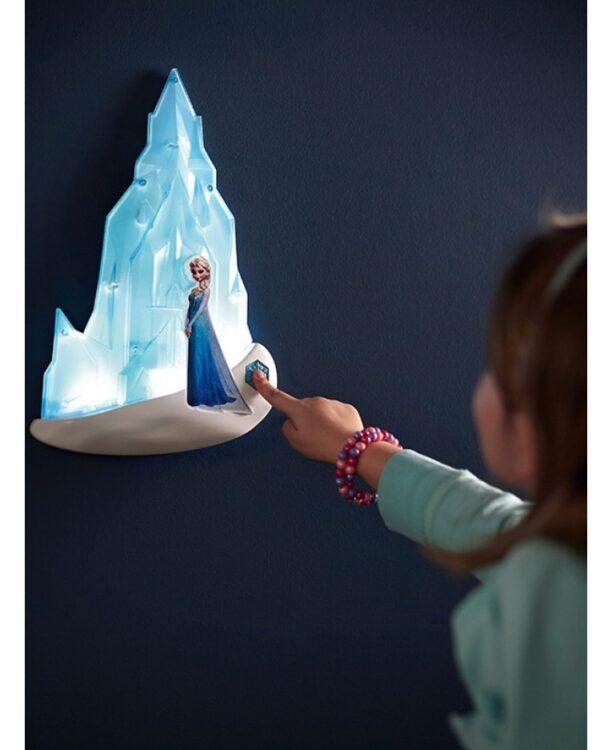 Frozen Luce da Parete in 3D di Elsa