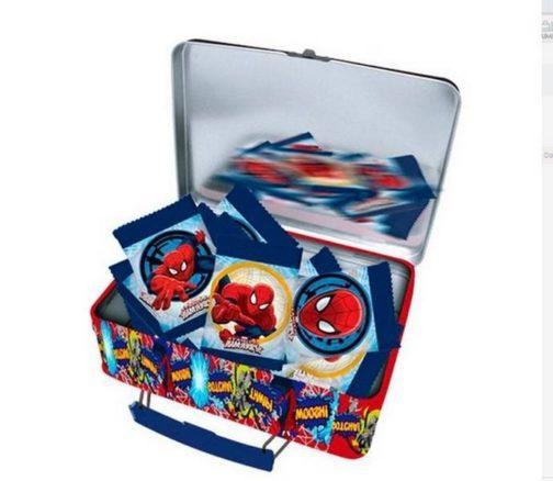 Lunch box in metallo Spiderman