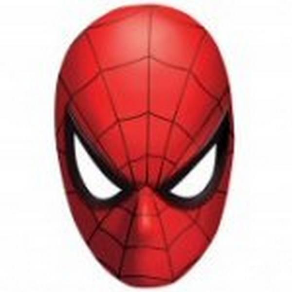 Mascherine viso Spiderman