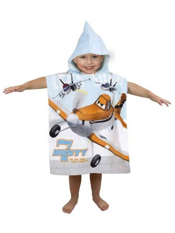 Accappatoio poncho Disney Planes Dusty