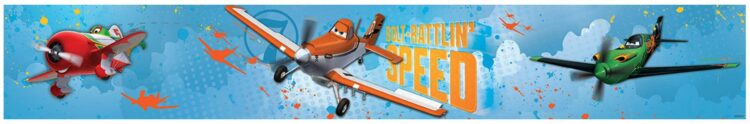Bordo adesivo Disney Planes Bolt 5mt