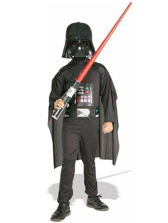 Costume bimbo Darth Vader Star Wars spada laser inclusa