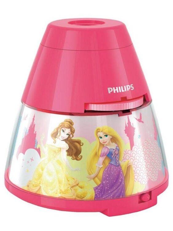 Luce notturna e proiettore a LED Principesse Disney Philips