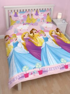 Parure copripiumino matrimoniale Principesse Disney Enchanting