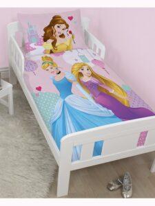Parure copripiumino lettino Principesse Disney Enchanting
