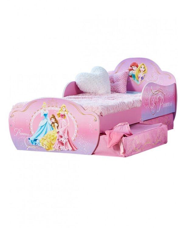 Lettino Disney Princess con cassetti