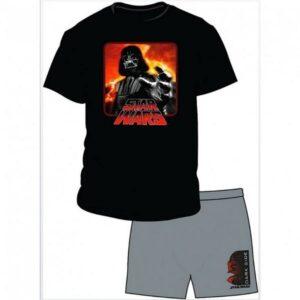 Pigiama adulto Darth Vader manica corta
