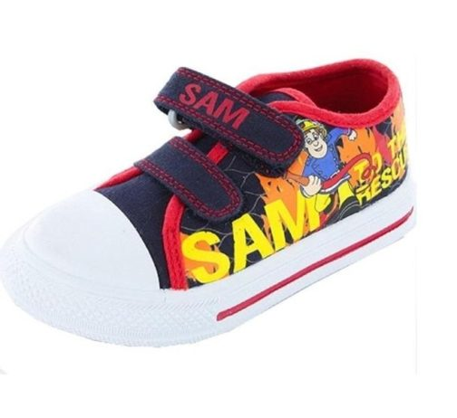 Sneakers in tela Sam il Pompiere