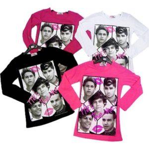 T-Shirt manica lunga One Direction