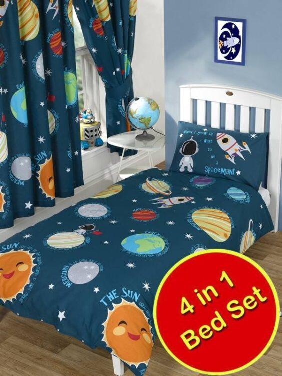 Set Lettino 4in1 Sistema Solare