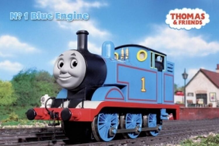 Maxi Poster Trenino Thomas Blue Engine