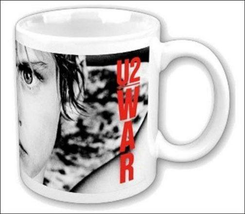 Tazza mug in ceramica U2 War