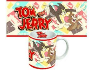 Tazza in porcellana Tom & Jerry