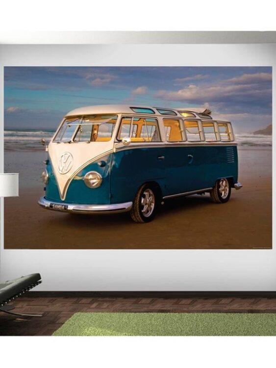 Fotomurale Camper Volkswagen 232 x 158cm