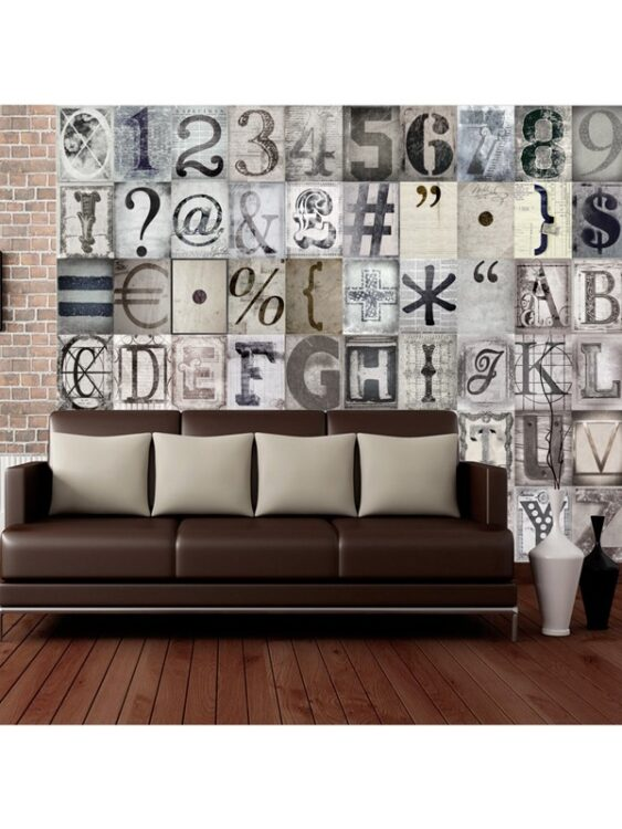 Murale Creative Collage Typography