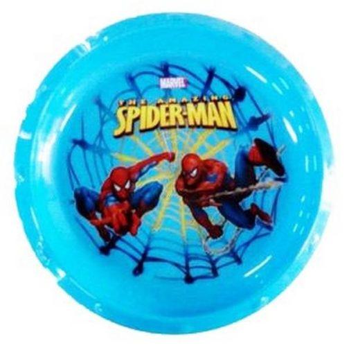Piatto piano in plastica Spiderman