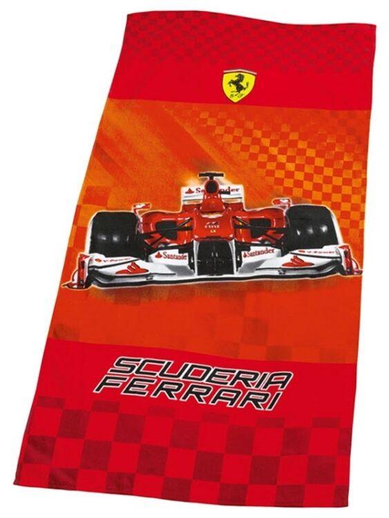Asciugamano Telo Mare Ferrari Race
