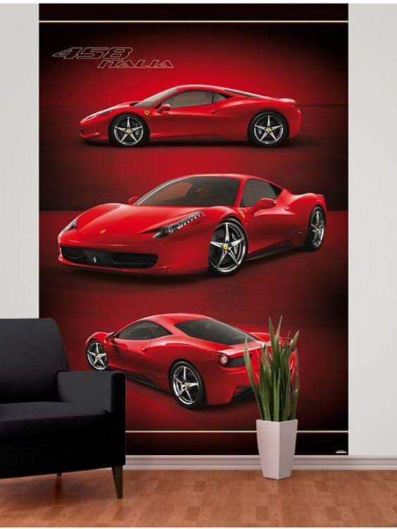 Fotomurale Ferrari 232cm x 158cm
