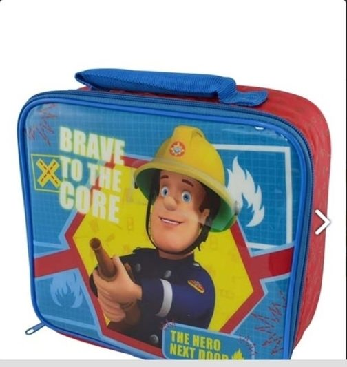 Borsa termica Sam Il Pompiere 'Brave'