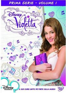 Cofanetto Dvd Violetta 9pz