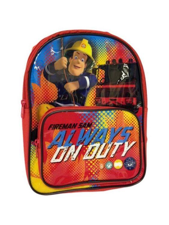 Zainetto asilo Sam il Pompiere On Duty