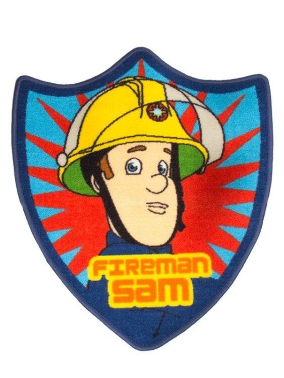 Tappeto sagomato Sam il Pompiere Brave