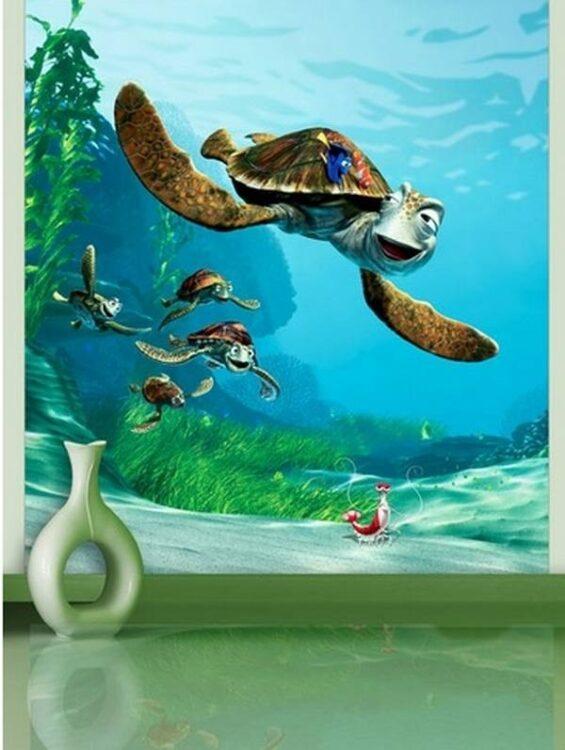 Murales Alla Ricerca di Nemo Crush