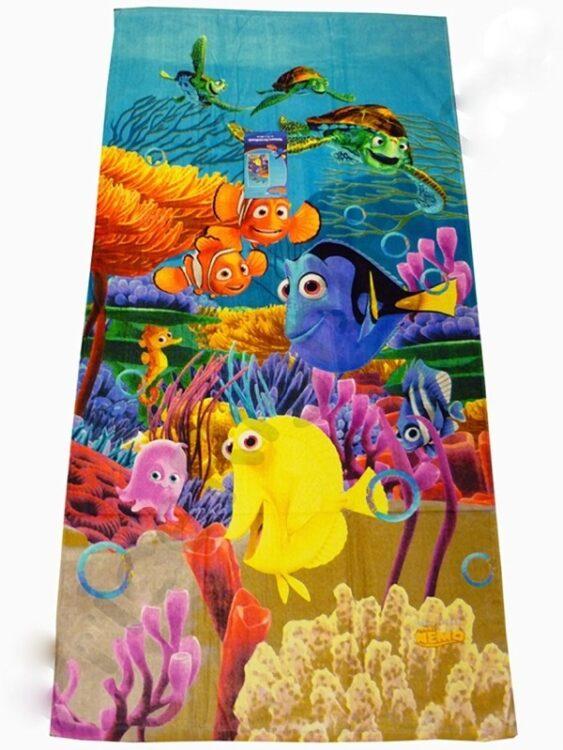 Asciugamano Telo Mare Alla Ricerca di Nemo