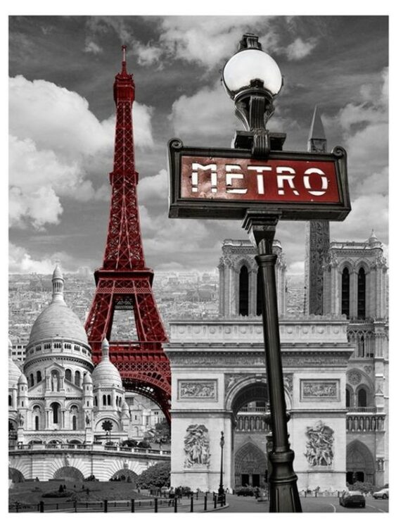 Plaid Pile Parigi