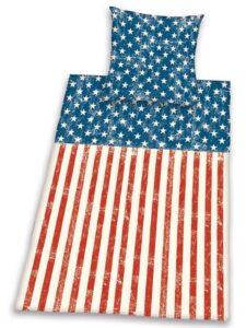 Parure Copripiumino Singolo Bandiera Americana
