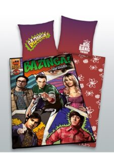 Parure Copripiumino Singola 'The Big Bang Theory'