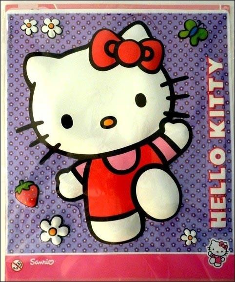 Set decorazioni Hello Kitty in 3D