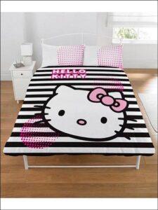 Parure copripiumino matrimoniale Hello Kitty