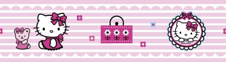 Bordo adesivo Hello Kitty Candy