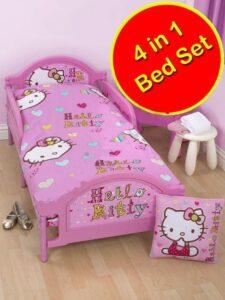 Set Lettino 4in1 Hello Kitty