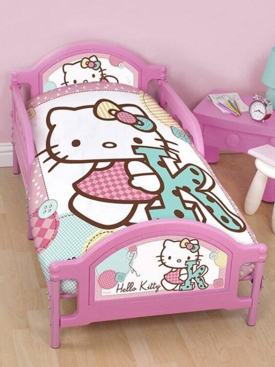 Lettino Hello Kitty Stitch