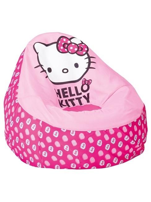 Poltroncina pouf gonfiabile Hello Kitty