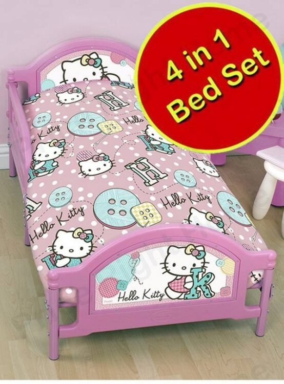 Set lettino 4in1 Hello Kitty Buttons