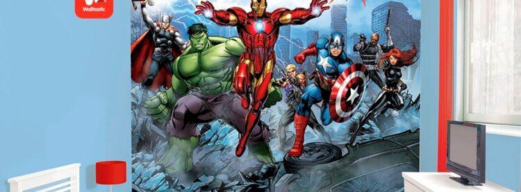 Murales Avengers Walltastic