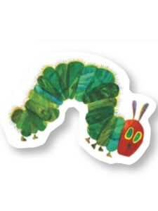 Cuscino sagomato The Very Hungry Caterpillar