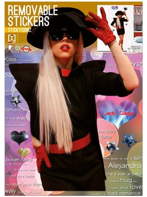 Adesivi murali Lady Gaga