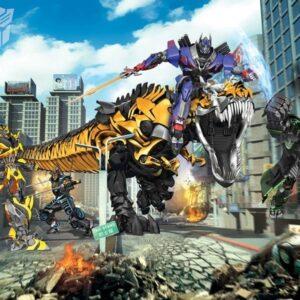 Murales Transformers Walltastic L'era dell'Estinzione