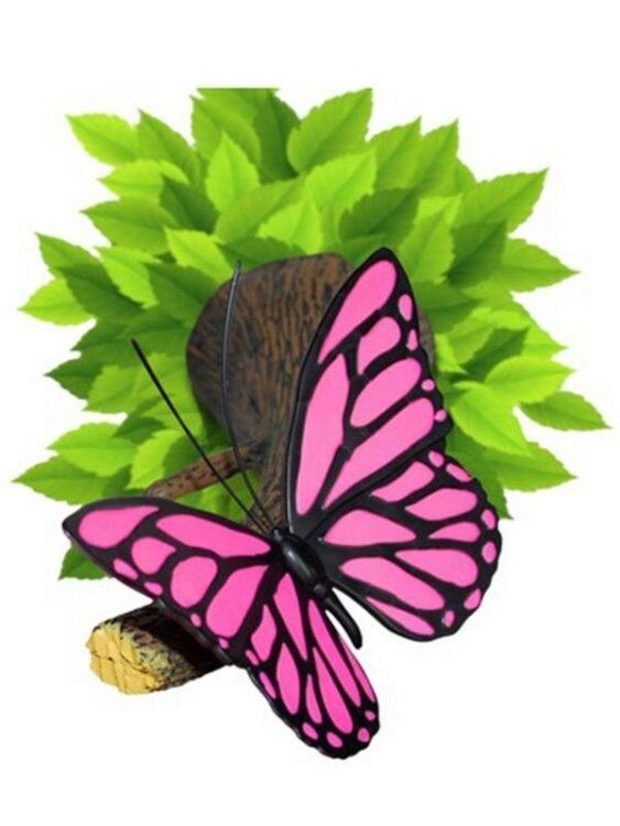 Luce notturna 3D a LED Farfalla