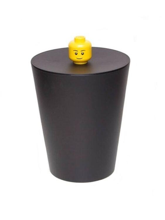Cestino multiuso Lego nero